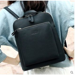 SUOAI - Faux Leather Backpack