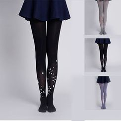 LA SHOP - Embellished Tights