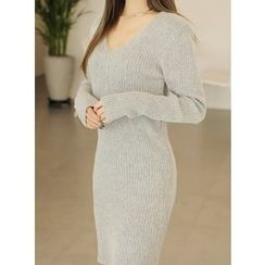 BBAEBBAE - Rib-Knit Dress