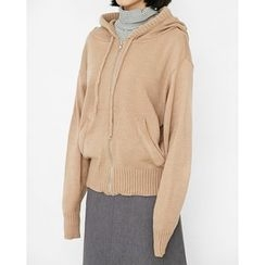 Someday, if - Zip-Up Knit Hoodie