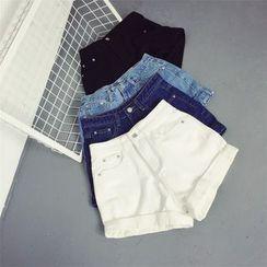Kojasmine - Denim Shorts
