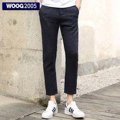 WOOG - Straight Leg Cropped Pants