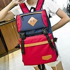 Top Seeka - Color-Block Supportive Backpack