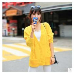 anzoveve - Cable Knit Cardigan