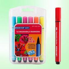 Chise - Washable Colour Marker Pen Set