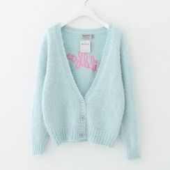 Meimei - Mohair Embroidered Cardigan