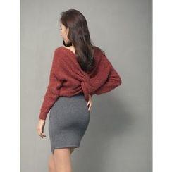 GUMZZI - Rib-Knit Sweater