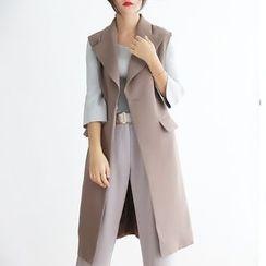 TAILO - Buttoned Long Vest