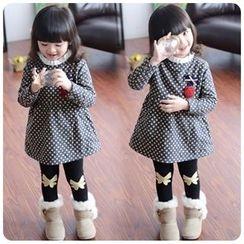 Rakkaus - Kids Long-Sleeve Dotted Dress