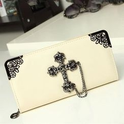 enoi - Cross Long Wallet