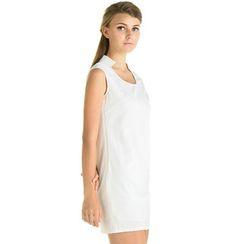 59 Seconds - Cutout Detail Sleeveless Dress