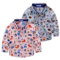 JAKids - 小童動物印花襯衣