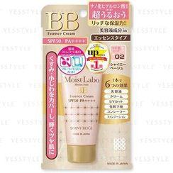 brilliant colors - Moist Labo BB Essence Cream SPF 50 PA++++ (#02 Shiny Beige)