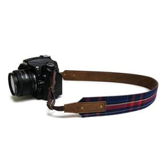 ideer - Scottie Stewart Blue Camera Strap