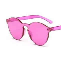 OJOS - Frameless Colored Lens Sunglasses