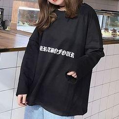 RASA - Lettering Long-Sleeve T-Shirt