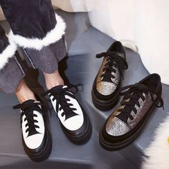 Charming Kicks - Platform Sneakers