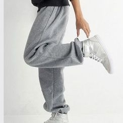uninukoo - Plain Baggy Pants
