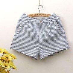 Rosadame - 条纹短裤