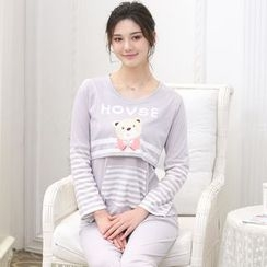 Kream - Pajama Set: Nursery Top + Pants