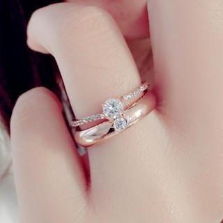 Gossip Girl - Rhinestone Ring