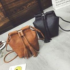 Rosanna Bags - Tasseled Bucket Bag