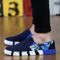 Gerbulan - 印花帆布轻便鞋