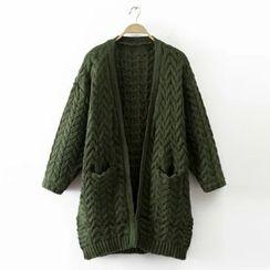 Acoustic Rain - 粗针织开衫