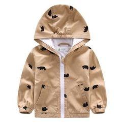 Endymion - Kids Printed Hooded Zip Jacket