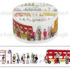 Aimez le style - Aimez le style Masking Tape Primaute Middle Bus Stop