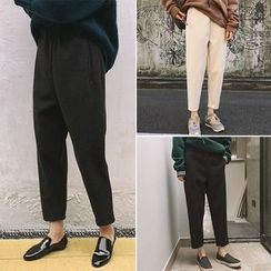 Moon City - Tapered Cropped Pants