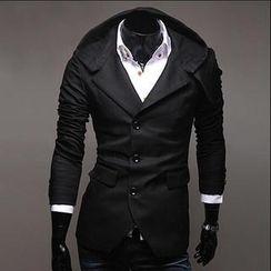 Bay Go Mall - Single-Breast Trench Coat