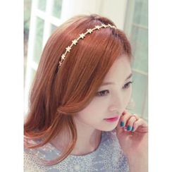 kitsch island - Rhinestone Star Hairband