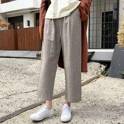 MATO - Striped Cropped Pants