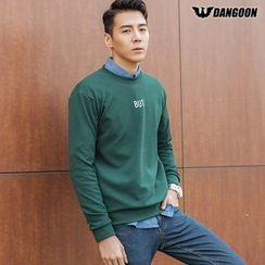 DANGOON - Lettering Colored Sweatshirt