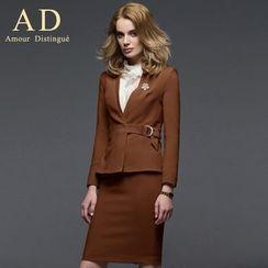 Aision - Lace-Trim Blouse  / Jacket / Pencil Skirt / Pants / Sleeveless Top / Sets