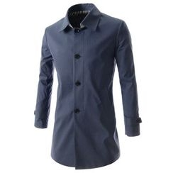TheLees - Single-Breast Trench Coat