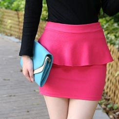 59th Street - Peplum Skirt