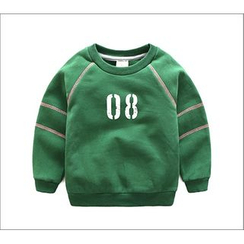Seashells Kids - Kids Number Print Sweatshirt