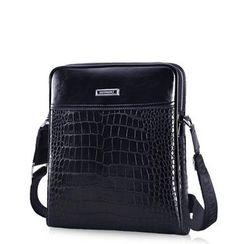 ROI - Croc-Grain Cross Bag