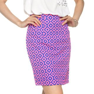 YesStyle Z - Pattern A-Line Skirt