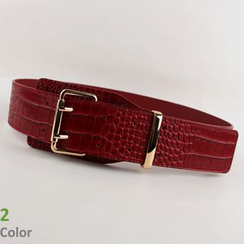 Goldenrod - Faux-Leather Belt