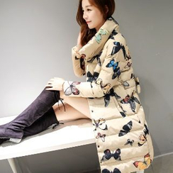 Romantica - Printed Padded Coat