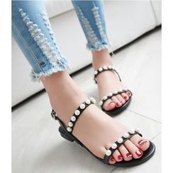 Cinnabelle - 仿珍珠凉鞋