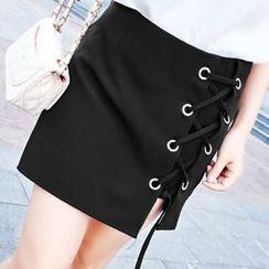Champi - Lace Up Skort