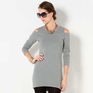YesStyle Z - Shoulder Cutout Tunic