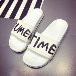 kokoin - Lettering Slippers