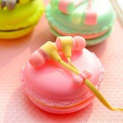 Showroom - Earphone with Macaroon Pouch