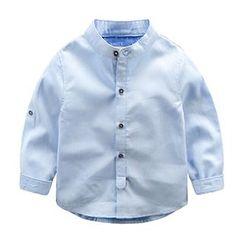 Kido - 小童纯色衬衫