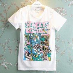 Kidora - Kids Print T-Shirt